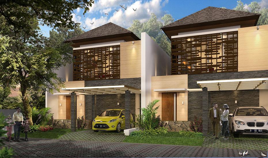 Rumah dijual di Cibubur | Tipe C : 8x20m