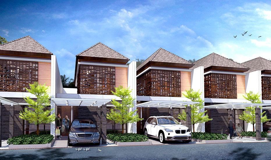 Rumah dijual di Cibubur | Tipe E : 6x20m