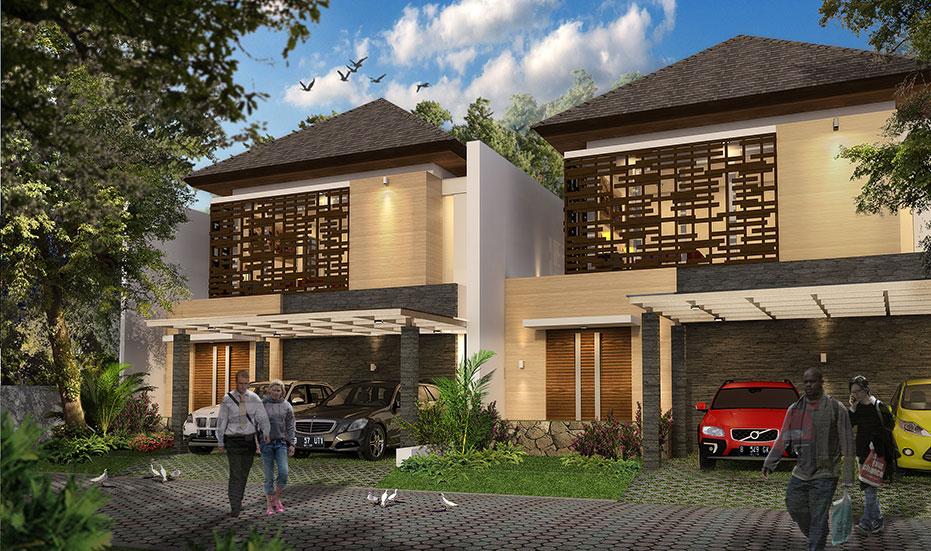 Rumah dijual di Cibubur   Tipe B : 10x20m